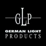 GLP logo on black background